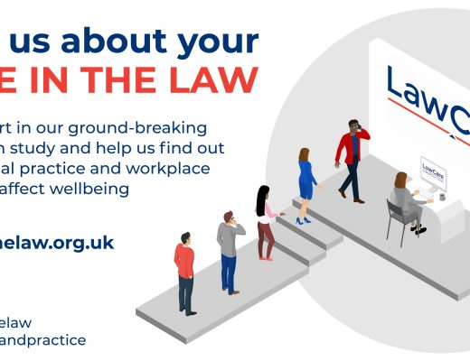 "LawCare launches ground-breaking research study ""Life in the Law"""